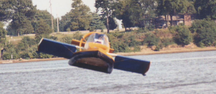 The invention of the hovercraft